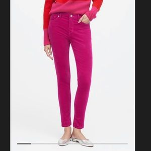 NY& C Pink Skinny Low Rise Jeans